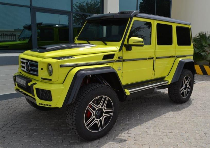 Another Mercedes Benz G500 4x4 Tuned By Brabus