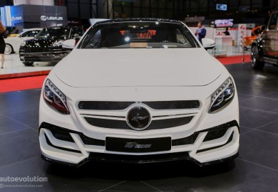 Mercedes-Benz S63 AMG Coupe Tuned By Fab Design