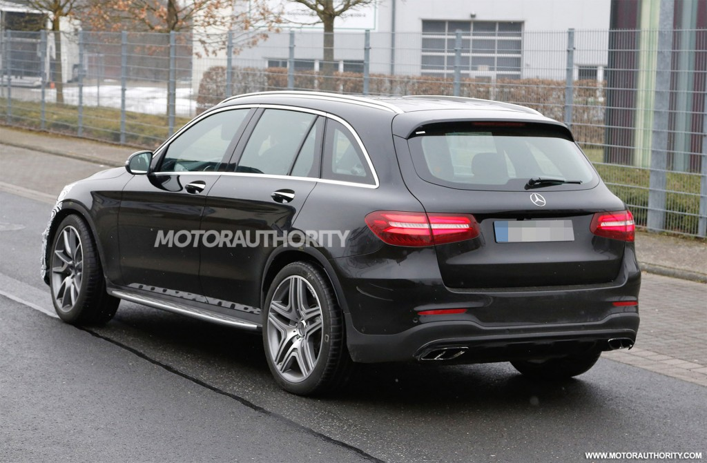 Mercedes-AMG GLC 63 Spy Shots Surface Online