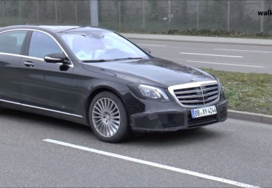 Mercedes-Benz S-Class Facelift Caught On Cam Again