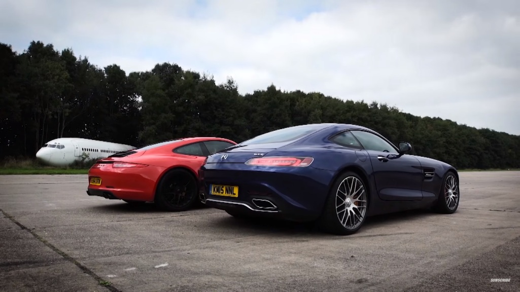 Mercedes-AMG GT S Goes Up Against The Porsche 911 GTS
