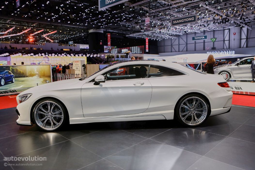 Mercedes benz s63 amg coupe tuned by fab design for Mercedes benz s63 amg coupe