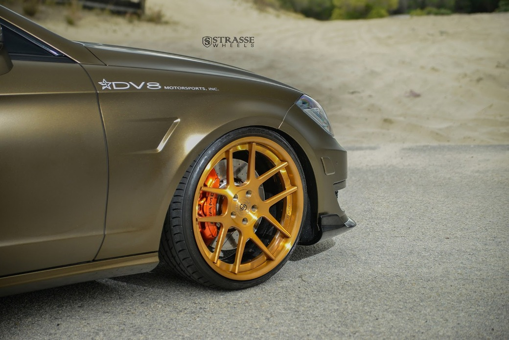 Mercedes-Benz CLS63 AMG Given SM5 Deep Concave Wheels By