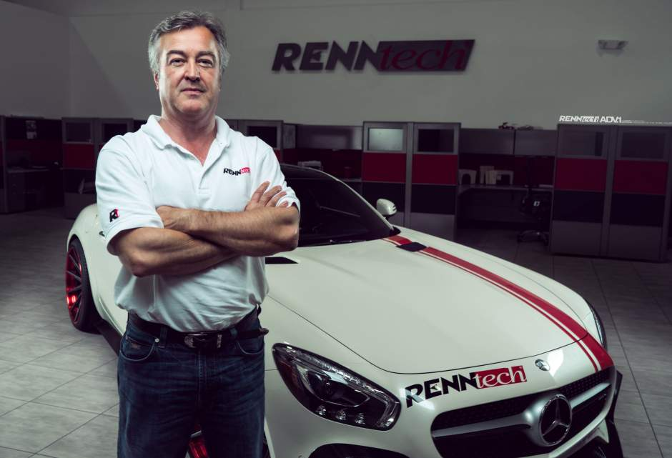 Tony Kanaan Joins Photo-Shoot For RENNtech-tuned Mercedes-AMG GT
