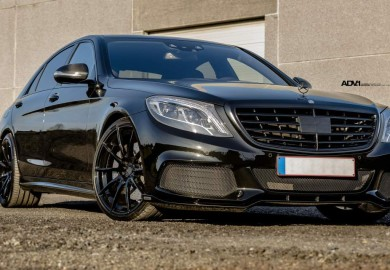 Mercedes-Benz S63 AMG Look Enhanced By ADV1 Wheels