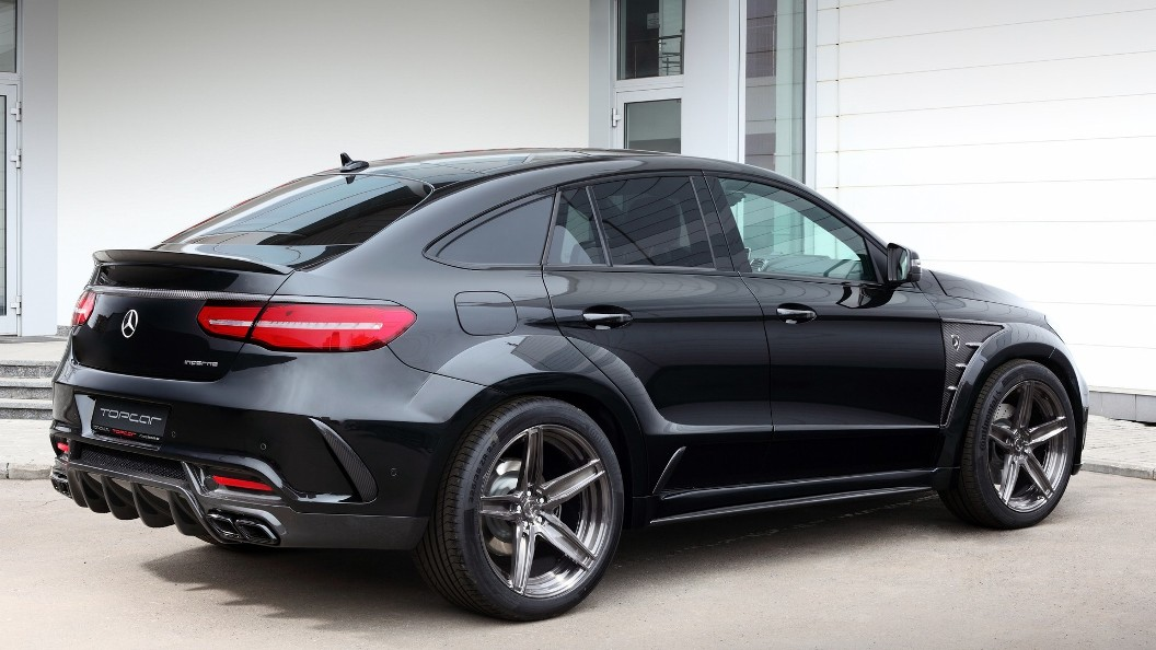 Black Inferno Styling Package For Mercedes Benz Gle Coupe