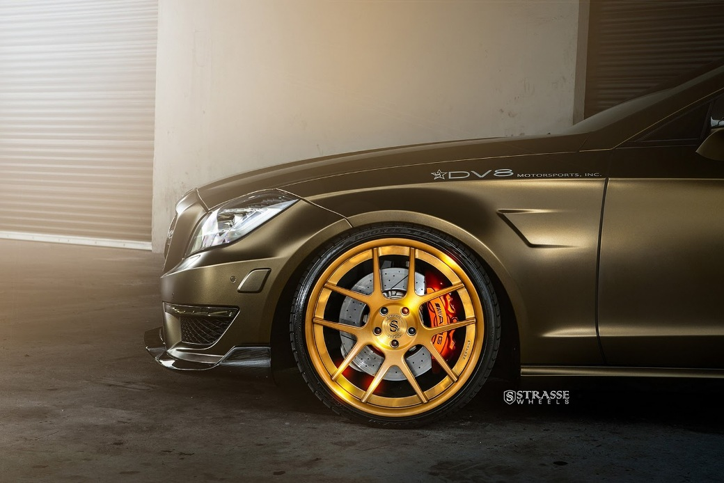 Mercedes Benz Cls63 Amg Given Sm5 Deep Concave Wheels By