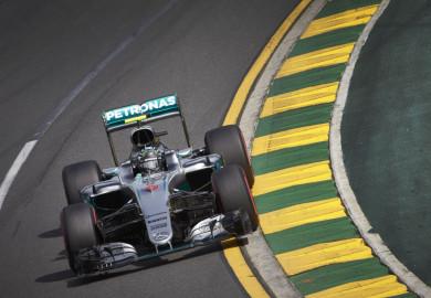 Mercedes AMG Petronas F1 Nico Rosberg wins 2016 Australian GP