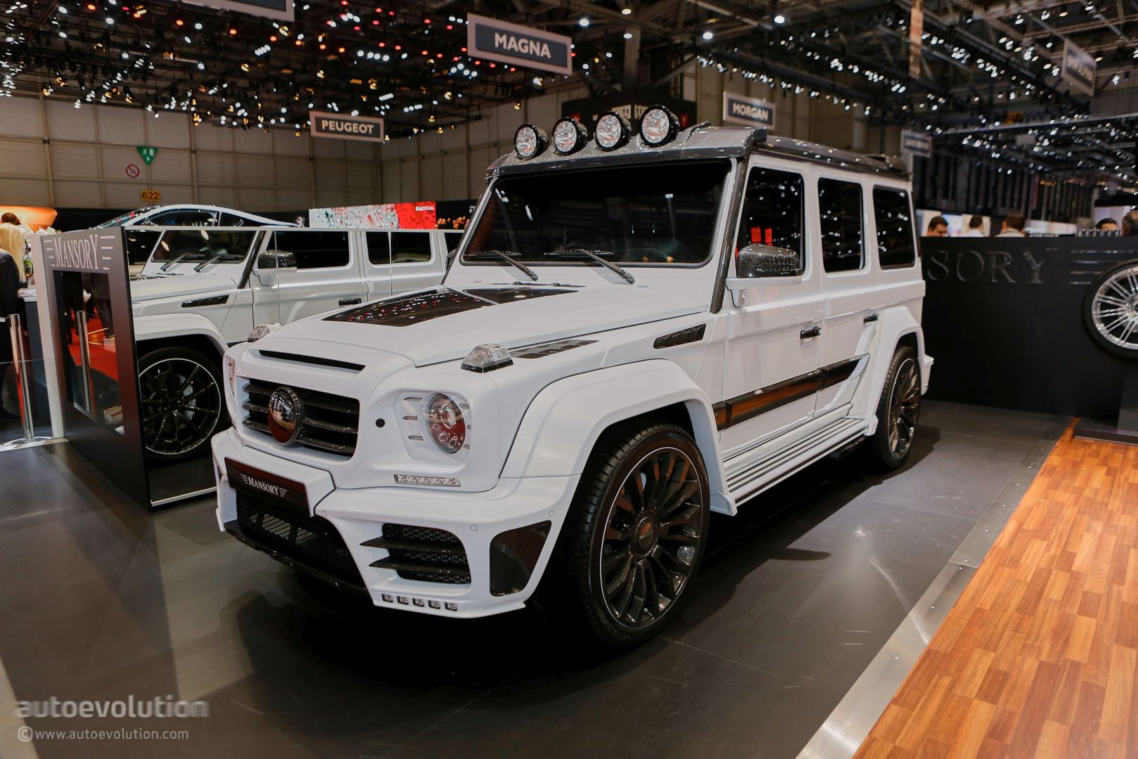 Mansory Showcases Its Tuned Mercedes Cars and SUV in Geneva