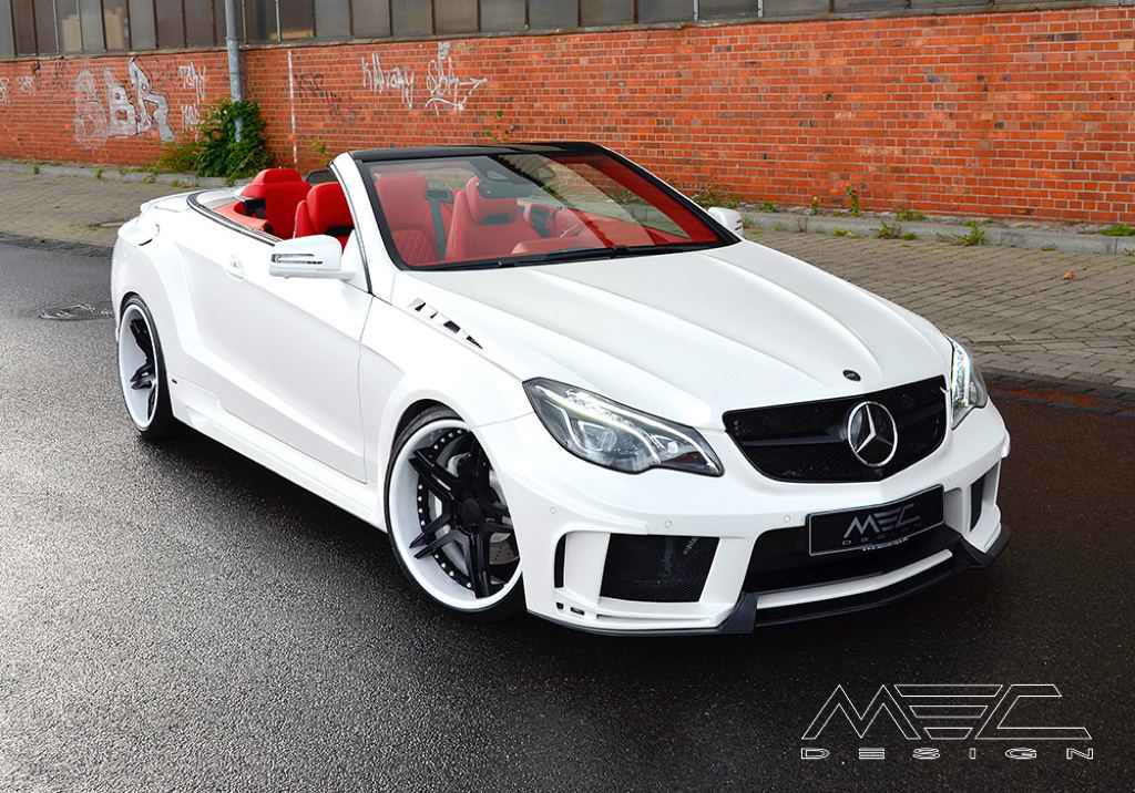 Mercedes Benz E Class Cabriolet Gets A New Look From Mec Design