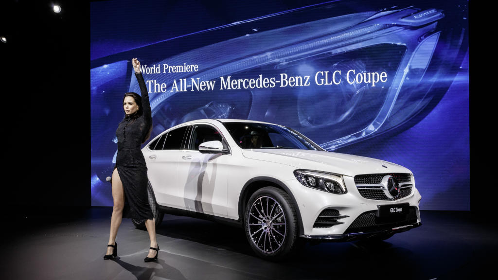 MercedesBenz At The New York International Auto Show - Mercedes car show