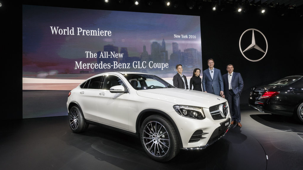 mercedes-benz at the new york international auto show