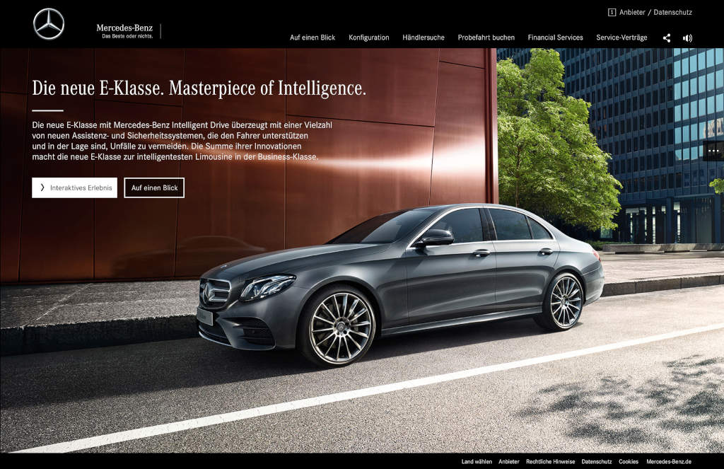 Mercedes-Benz E-Class Arrives in Showrooms Next Month