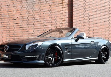 Mercedes-Benz SL63 AMG Enhanced By MEC Design