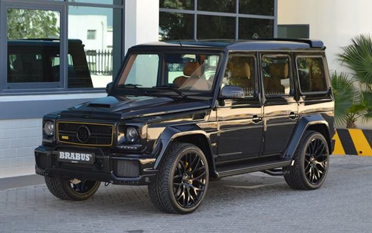 Mean-Looking Brabus-Tuned Mercedes-Benz G63 - BenzInsider