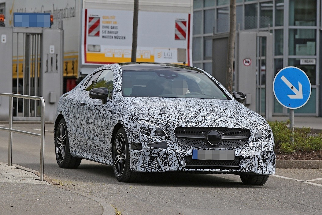 Mercedes Benz E Cl Coupe Caught On Camera In Germany
