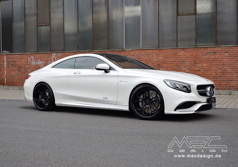 Mercedes Benz S63 Amg Coupe Given More Mods By Mec Design