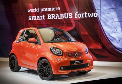 Latest Smart Brabus Debut At Beijing 2016