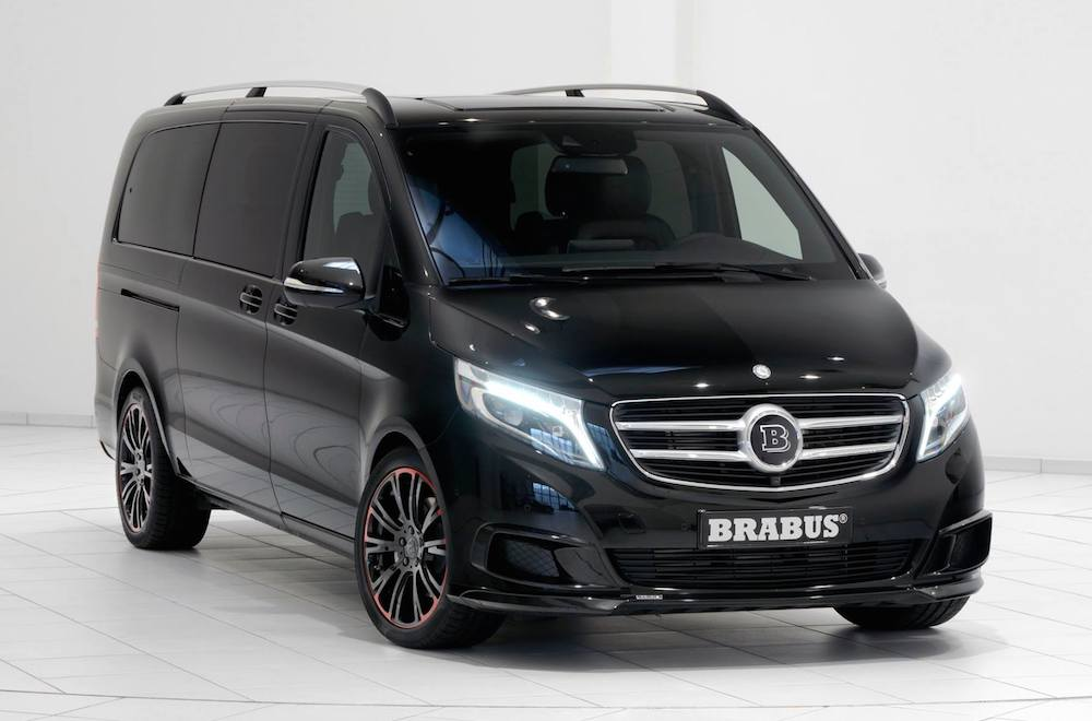 Check Out This Brabus-Tuned Mercedes-Benz V250 ...