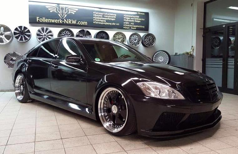 Mercedes Benz S Class W221 Tuned By Prior Design Benzinsider Com A Mercedes Benz Fan Blog
