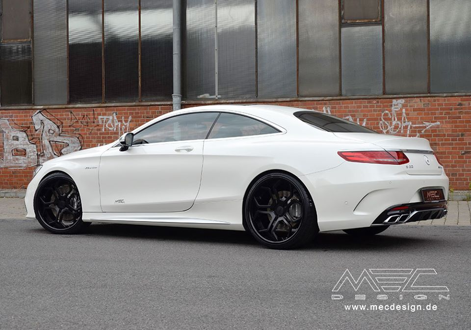 mercedes benz s63 amg coupe given more mods by mec design a mercedes benz. Black Bedroom Furniture Sets. Home Design Ideas