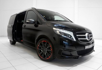 Check Out This Brabus-Tuned Mercedes-Benz V250