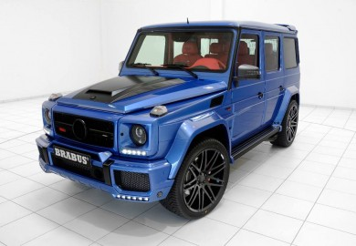 Brabus Tunes Another Mercedes-Benz G63 AMG