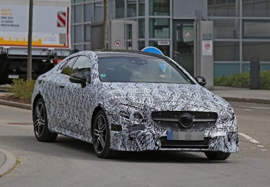 Mercedes-Benz E-Class Coupe Caught On Camera In Germany