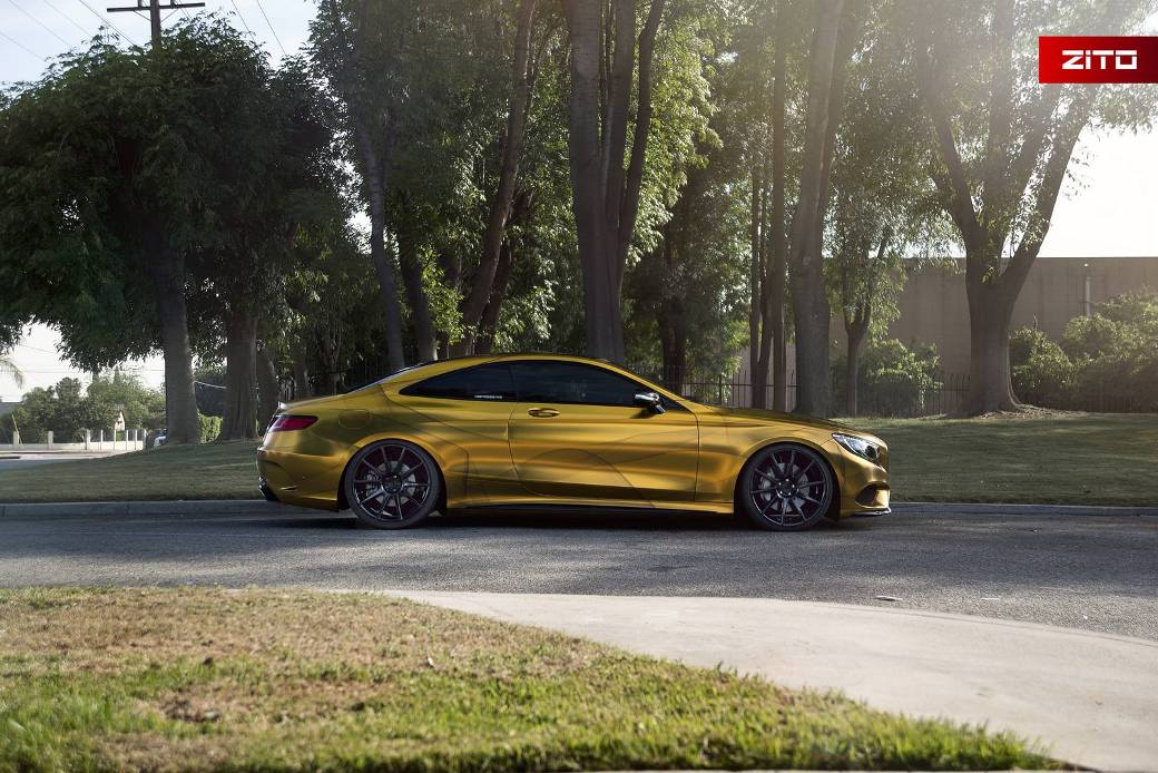 2016 Mercedes Benz S500 Coupe Looks Impressive In Gold