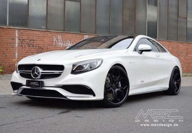 Mercedes-Benz S63 AMG Coupe Given More Mods By MEC Design