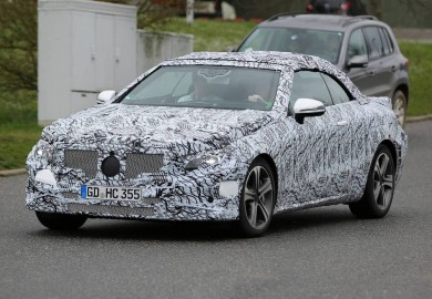 Spy Shots Of New Mercedes-Benz E-Class Cabriolet Emerge