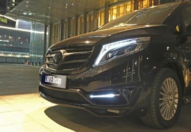 Mercedes-Benz V-Class Made Luxurious By Larte Design