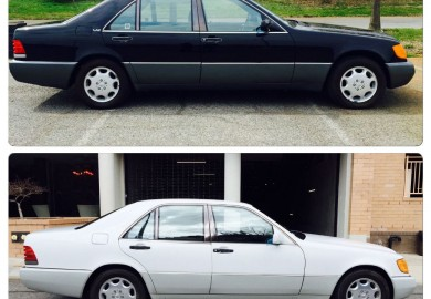 Two 1992 Mercedes-Benz W140 S-Class Units Spotted On eBay