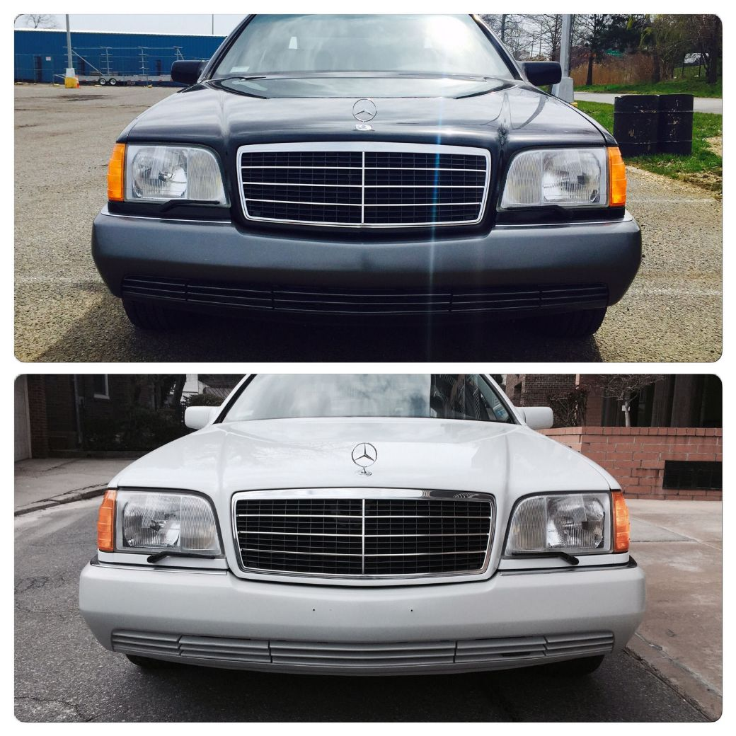 Two 1992 mercedes benz w140 s class units spotted on ebay for Mercedes benz 1992