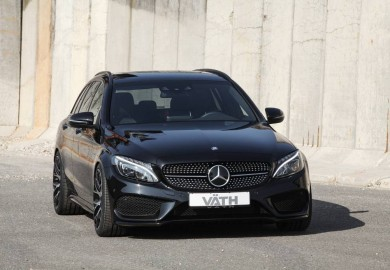 Vath Shows Off Modified Mercedes-Benz C450 AMG Sport