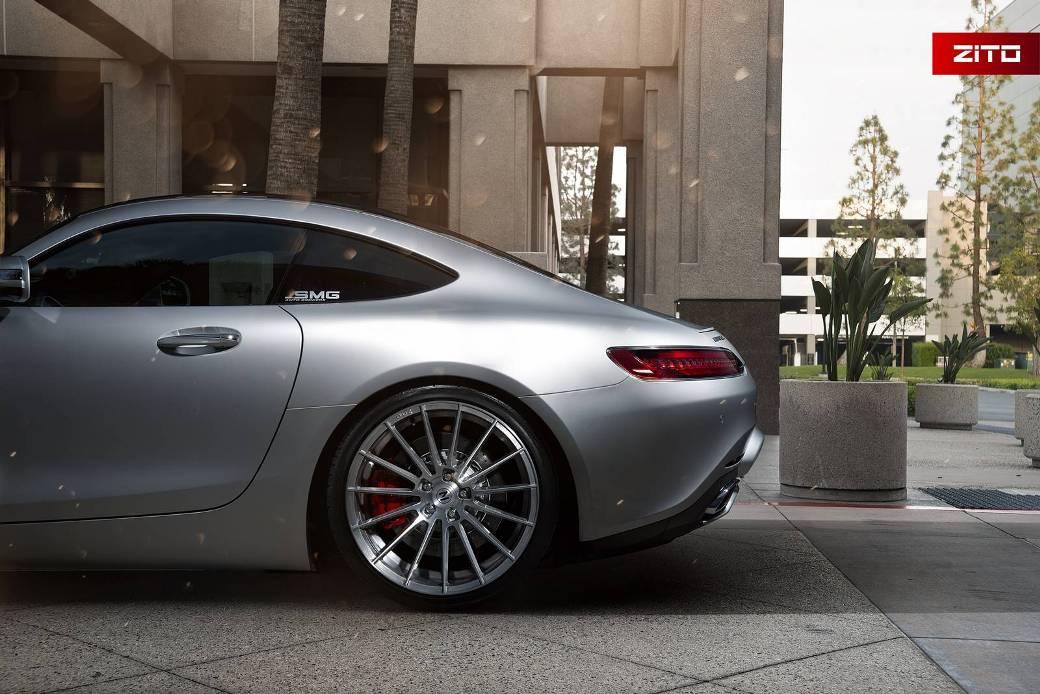 Mercedes Amg Gt S Receives Zito Wheels Benzinsider Com