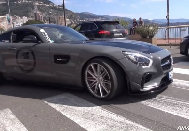 Mercedes-AMG GT Sporting Prior Design Wide Body Kit Spotted