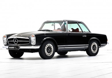 Vintage Mercedes-Benz Units Restored By Brabus