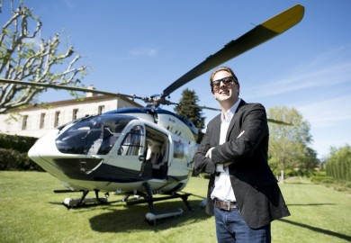 Travel With Style On The H145 Mercedes-Benz Style Helicopter