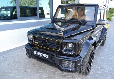 Mean-Looking Brabus-Tuned Mercedes-Benz G63