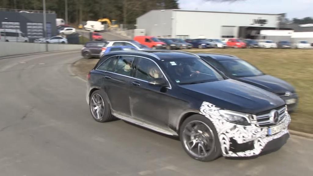 Mercedes-AMG GLC 63 Test Mule Caught On Camera