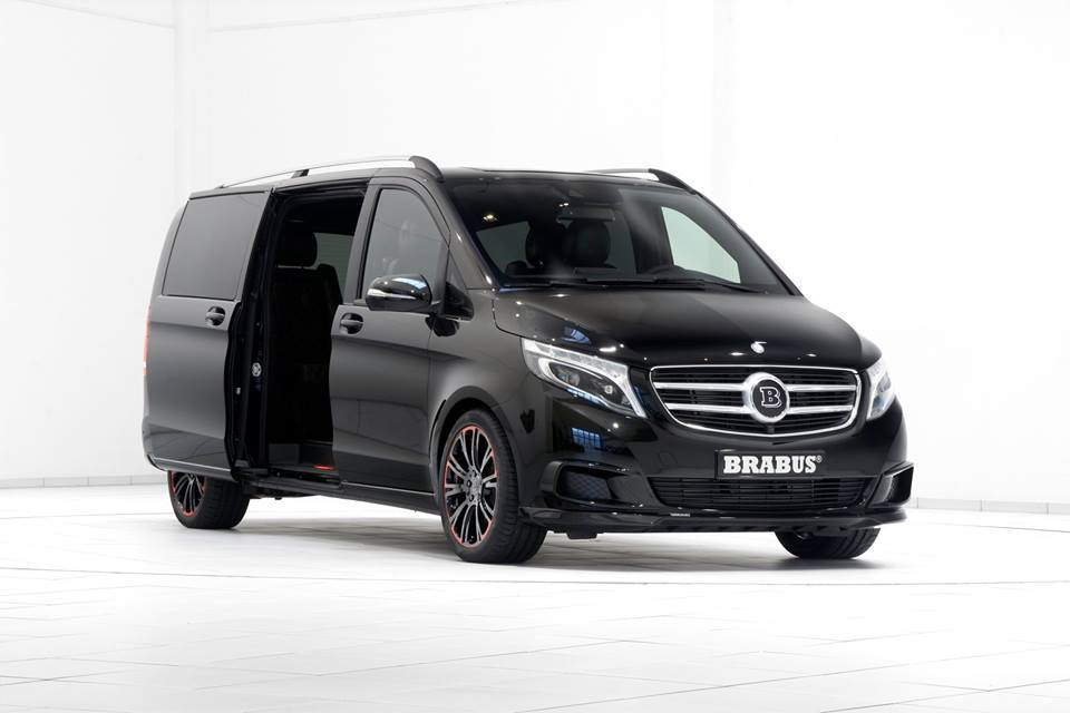 Check Out This Brabus Tuned Mercedes Benz V250