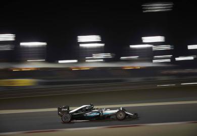 Lewis Hamilton Mercedes F1 2016 Bahrain Grand Prix