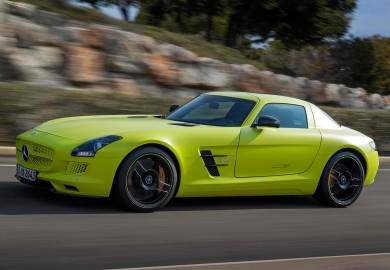 mercedes-benz sls amg gt electric drive