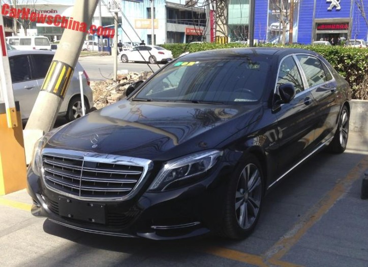 Only In China The Mercedes Maybach S400 4matic Benzinsider
