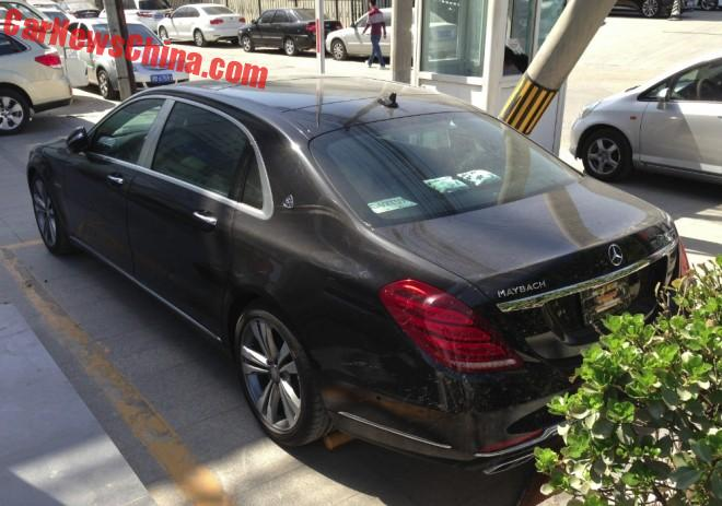 only in china: the mercedes-maybach s400 4matic - benzinsider