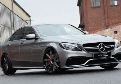 MEC Design Tweaks Mercedes-AMG C63