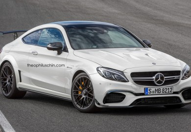 Mercedes-Benz C63 Black Series Rendered