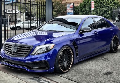 Cool Wald Mercedes-Benz S-Class Finished By RDB LA