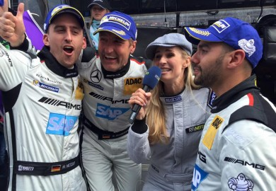 Four Mercedes-AMG GT3s Top The Nurburgring 24 Hours